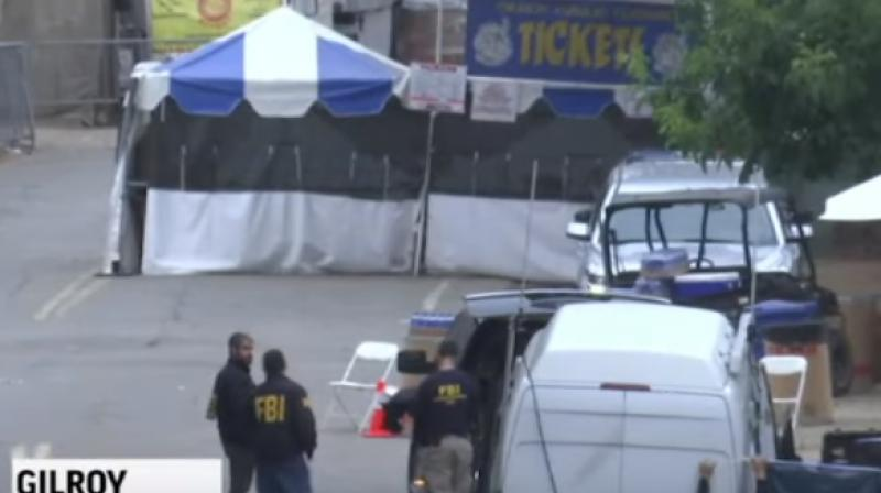 """Police said Legan managed to get into the annual outdoor festival -- which attracts nearly 100,000 and is billed as the """"world's greatest summer food festival"""" -- by cutting through a fence to avoid security measures, including metal detectors, that were in place. (Photo: AP/ video screengrab)"""