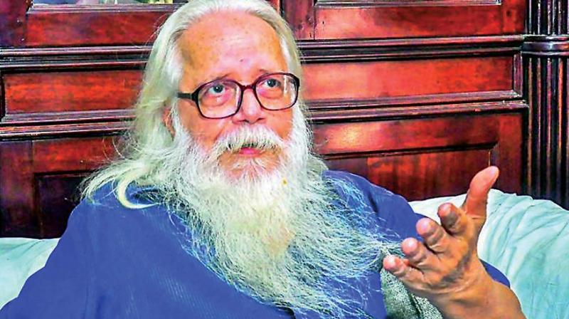 On Sept,14,2018 the Supreme Court directed the Government of Kerala to pay compensation of Rs 50 lakhs, to Nambi Narayanan.