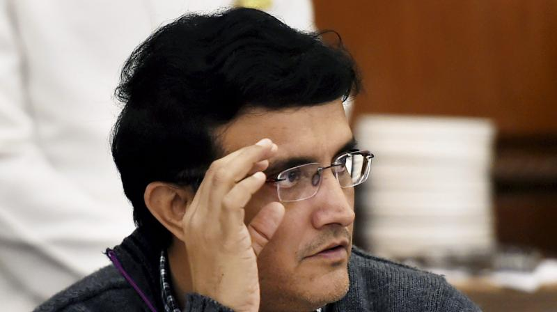 The BCCI elections are scheduled to be held on October 23 but with Ganguly being the only candidate to file his nomination for the top post of Indian cricket body, he is set to be elected unopposed. (Photo: PTI)