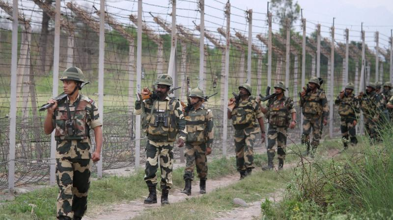 One Army jawan killed in cross border firing by Pakistani army along the Line of Control (LoC) in Rajouri sector in Jammu and Kashmir. (Photo: File | PTI)