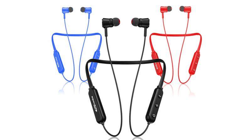 The company says that the headphones have a balanced design which allows you to not only keep the headphone secure in your ears even on a run but you can also store it and take it anywhere you go.