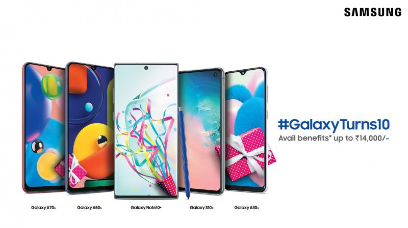 As #GalaxyTurns10 Samsung announces a range of offers on phones- details inside
