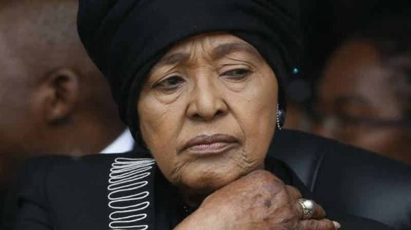 Madikizela-Mandela was married to Nelson Mandela from 1958 to 1996. Mandela, who died in 2013, was imprisoned throughout most of their marriage. (Photo: AP)