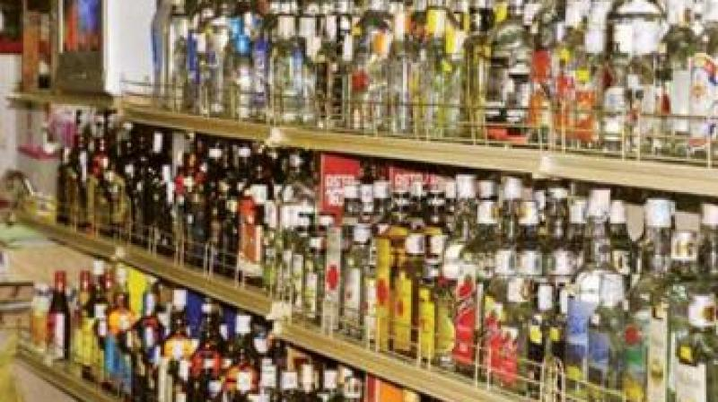 Warning liquor outlets to stay shut, Mr Vivekananda Reddy said,
