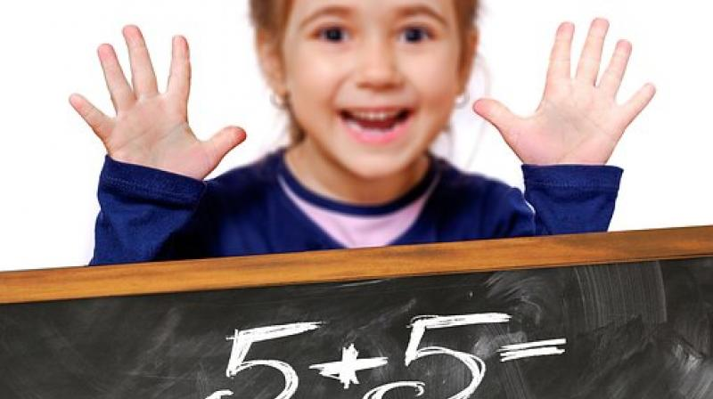 Exposure to basic numbers and math concepts at home were predictive of improving preschool children's general vocabulary. (Photo: Pixabay)