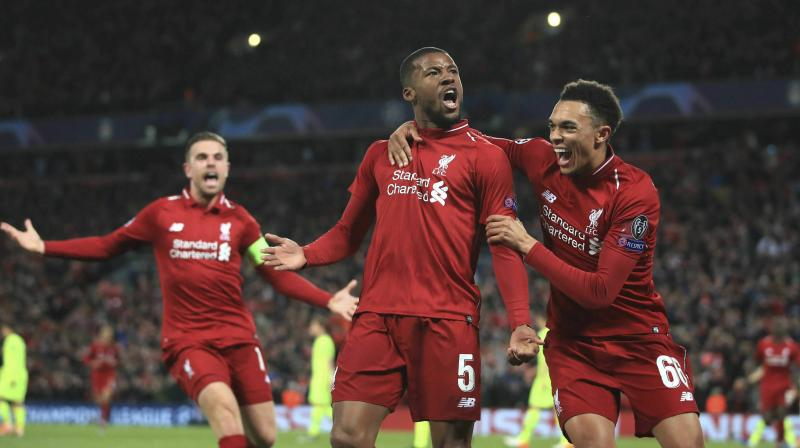 Georginio Wijnaldum started his pre-season campaign a week later than the first group of players as he was representing his country in the UEFA Nations League in June. (Photo: AP/PTI)