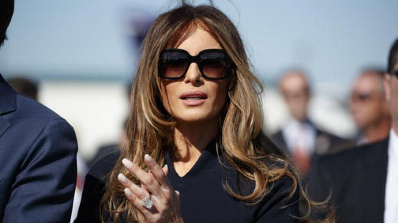 3b5b921727 US First lady Melania Trump and the political fashion police