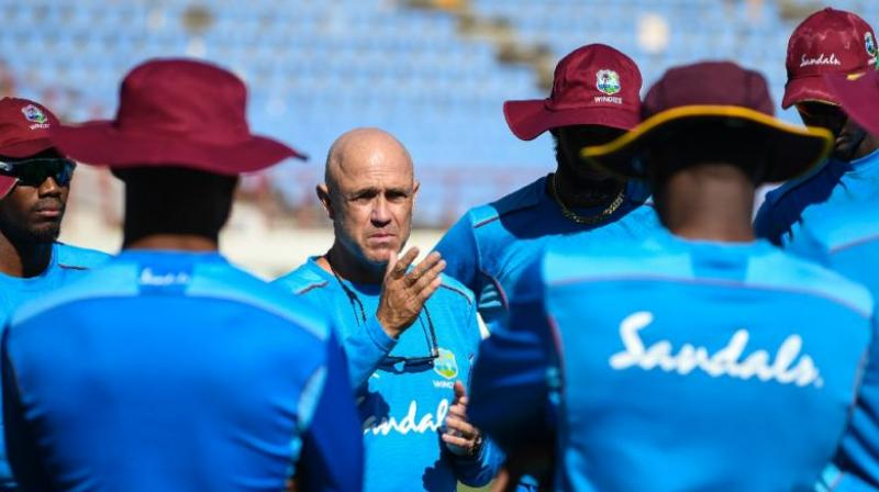 Richard Pybus leaves the Windies team just weeks ahead of the Cricket World Cup. (Photo: AFP)