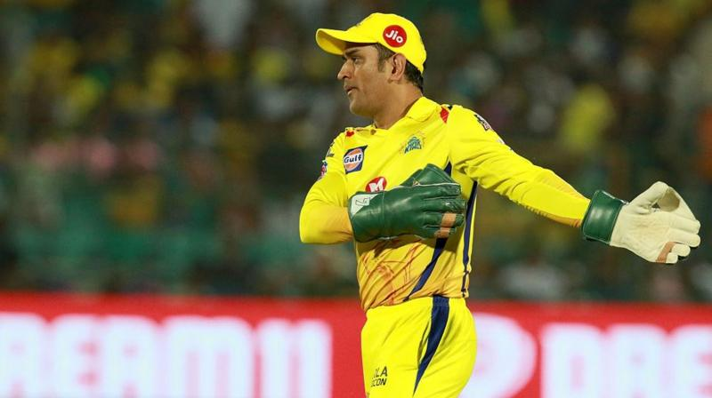 Revered for his 'captain cool' demeanour, Dhoni uncharacteristically lost his composure and rushed out of the dug-out to challenge umpire Ulhas Gandhe following his no-ball flip-flop during an IPL match against Rajasthan Royals on Thursday night. (Photo: BCCI)