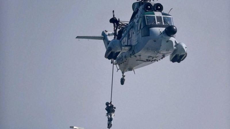 6 helicopters will be procured at a fly away condition while 95 will be made in India. (Representational Image | PTI)