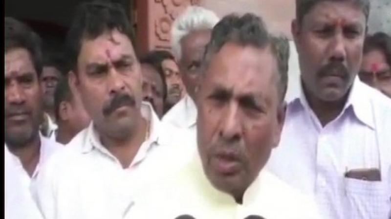 Congress leader KH Muniyappa has blamed Janata Dal (Secular) (JDS) for the Congress-JD(S) coalition's rout in the Lok Sabha elections, asserting that stitching an alliance with HD Deve Gowda's party cost dearer, amidst deep fissures in the ruling front in Karnataka. (Photo: ANI)