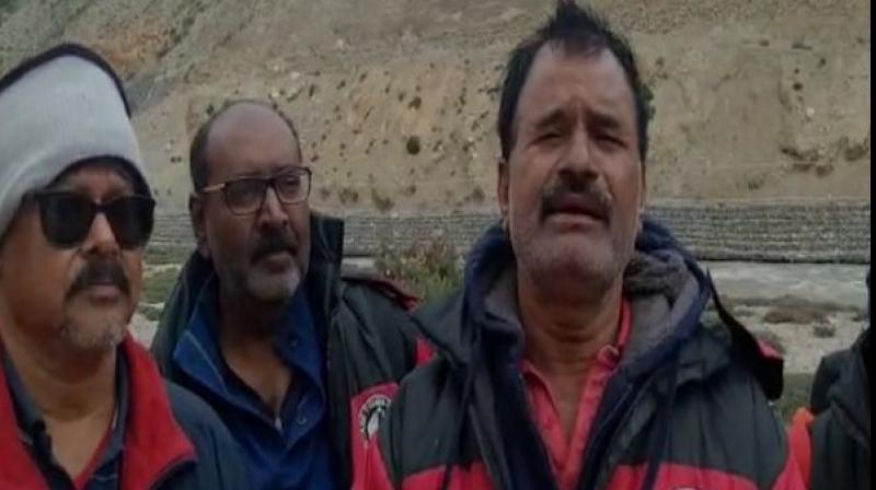 One of the passengers told ANI that the group, belonging to two different regions in Telangana state, registered themselves with the Southern Travel agency for the Kailash Mansarovar and had started their journey on June 13. (Photo: ANI)