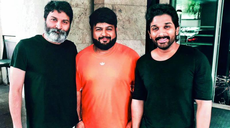 Interestingly, this is the second time Thaman is teaming up with Trivikram after Aravinda Sametha, and the composer can't stop raving about the filmmaker.