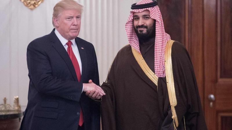 US President Donald Trump said on Saturday he is 'extremely angry' about the murder of a Saudi journalist but that nobody had 'pointed a finger' at the Kingdom's crown prince. (Photo: AFP)