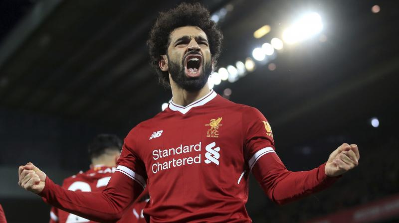 While Mohamed Salah fired Liverpool to 2-1 win against Leicester City, Manchester United drew against Southampton 0-0. (Photo: AP)