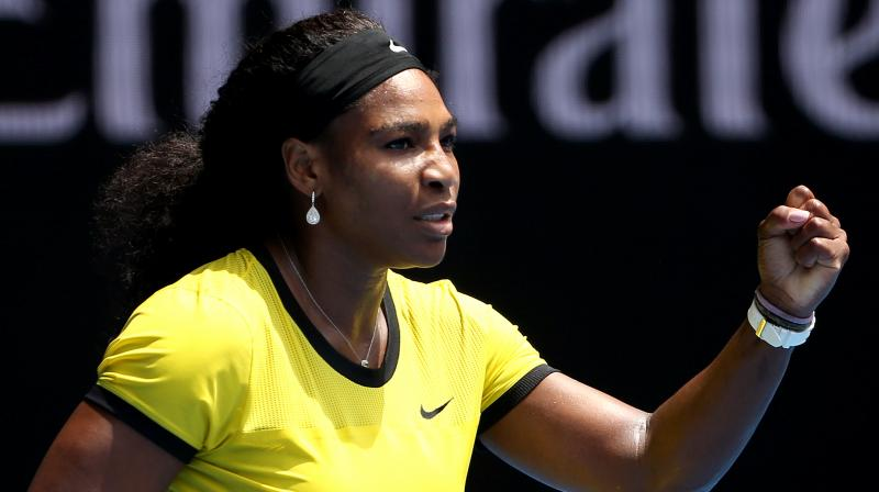 Serena Williams has registered for the Australian Open, which begins on January 15 at Melbourne Park but said that she is still unsure about her participation in the event. (Photo: AP)