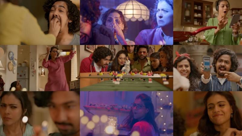 Some stills from 'Helicopter Eela'.
