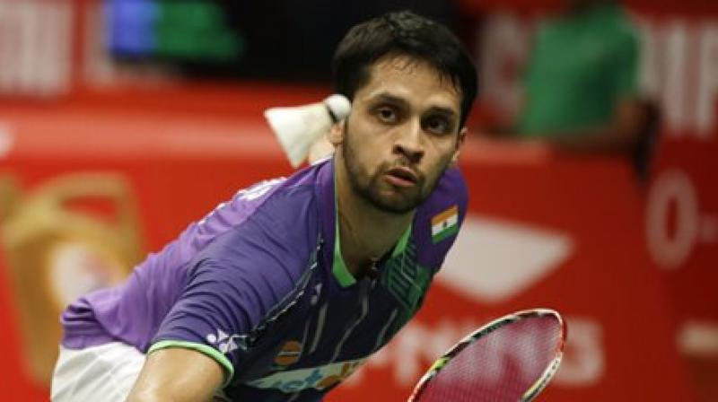 Parupalli Kashyap  will now face Hsu Jen Hao of Taiwan on Wednesday in the first round of the tournament.(Photo: AP)