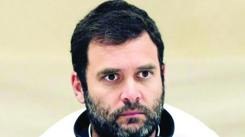 Rahul's visit to Alwar is seen as damage control and an attempt to send a message to Dalits that his party will fight for them. (Photo: File)