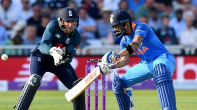 England won the toss and put India to bat. (Photo: AFP)
