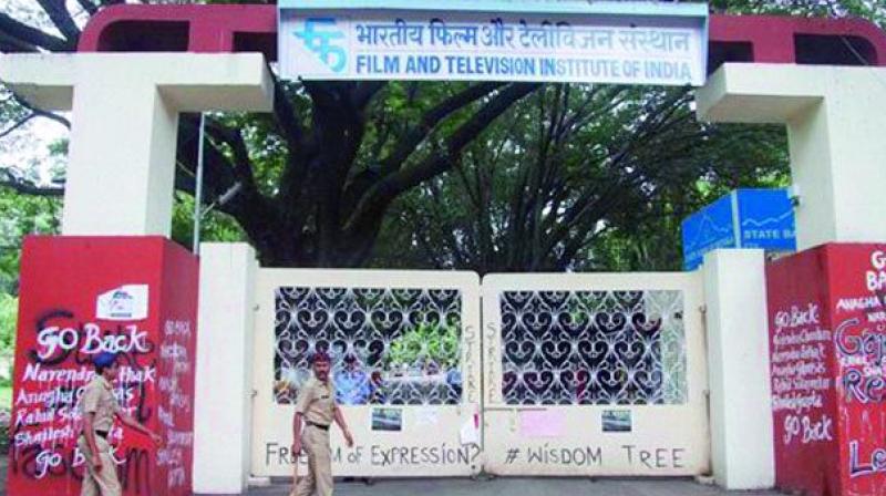 Film and Television Institute of India in Pune.