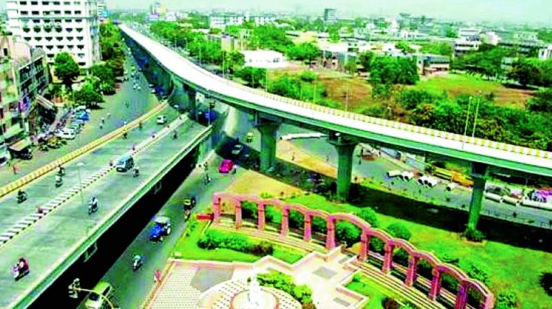 The ambitious Strategic Road Development programme of the Telangana government began with much fanfare and actually saw decent progress this year compared to last year.