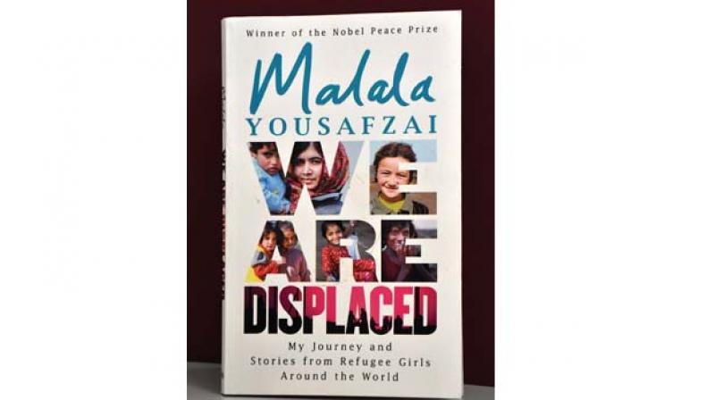 We are Displaced By Malala Yousafzai Publisher: Hachette India Cost: Rs 399 Pp: 212