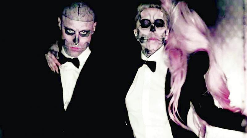 Lady Gaga Mourns Zombie Boy