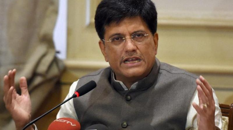 On September 26, Goyal said the SW railway construction wing of Bengaluru awarded the consultancy to the Rail India Technical and Economic Services (RITES), a government of India initiative, for a conceptual planning and study of the proposal. (Photo: File)
