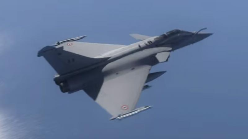 Dassault Rafale fighter aircraft (Photo: Youtube screengrab)