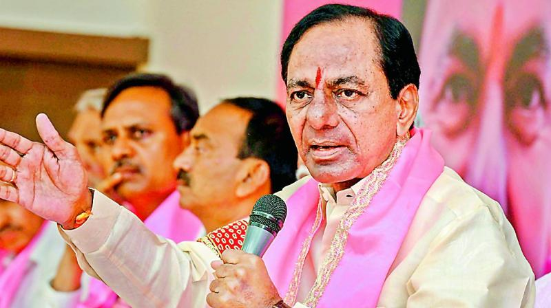 Why Mr. Chandrasekhar Rao launched a blistering attack on Congress?