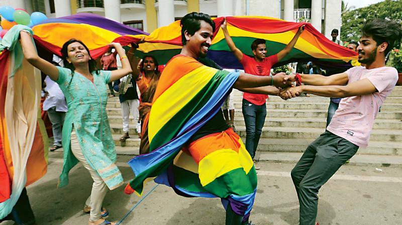 LGBT organisations in  Bengaluru: Sangama, Samara, Karnataka Sexual Minority Forum, Sadhna, Payana, Jeeva, Aneka, Solidarity Forum.   Support and advicay groups - Lesbit (lesbian, bisexual and transgender), Swabhava, Ga.