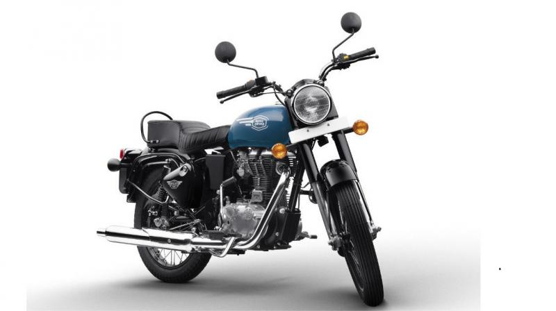 Royal Enfield Bullet 350 gets snazzier
