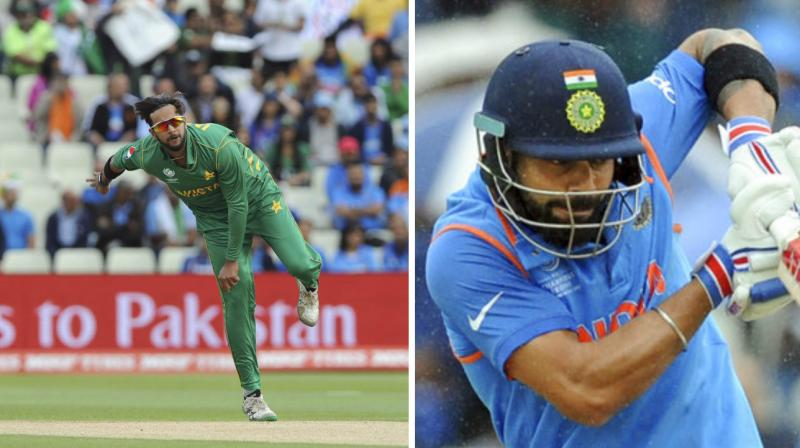 Pakistan Bowler Imad Wasim And India Captain Virat Kohli Are Currently At The Top Of ICC