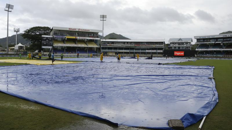 With rain hampering the first two ODIs, all eyes will be on the third match at the Sir Vivian Richards Stadium, in Antigua. (Photo: AP)