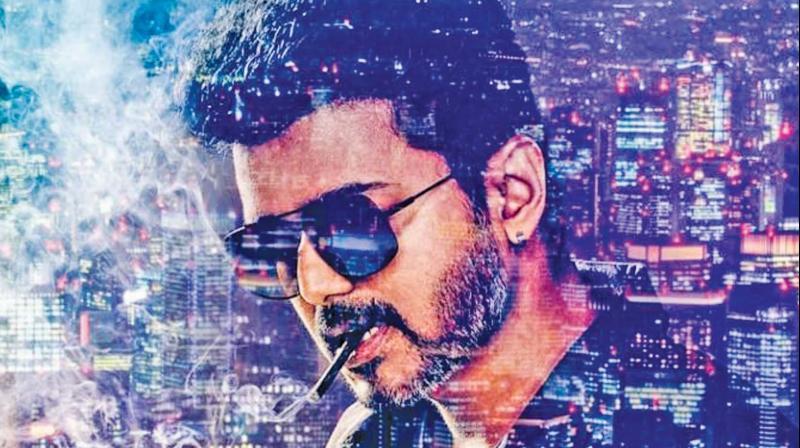 Tamil film Sarkar, starring popular film star Vijay