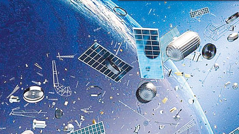 In the post-Cold War era, these radars are sharing data on space debris with all space-faring nations.Perhaps, all these radars could help track and cart away the trash by 2050!
