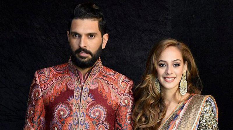 Yuvraj Singh got married to model-actress Hazel Keech in November this year. (Photo: PTI)