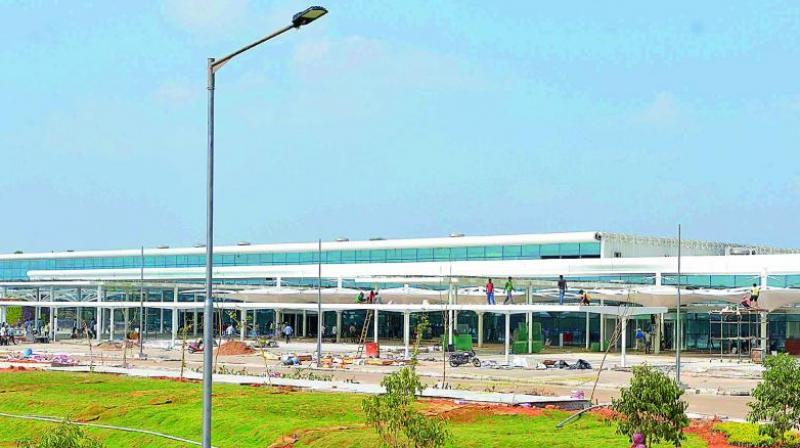 Gannavaram Airport has been moving towards transforming itself into an International Airport. After three-and-a-half years, the prominence given by the government did not yield fruitful results.