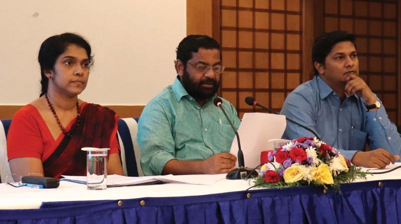 Tourism Minister Kadakampally Surendran announces the winners of the Clint memorial online international painting competition in Thiruvananthapuram