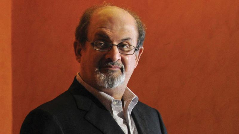 "Salman Rushdie's life changed forever on February 14, 1989, when Iran's spiritual leader ordered the novelist's execution after branding his novel ""The Satanic Verses"" blasphemous. (File Photo)"