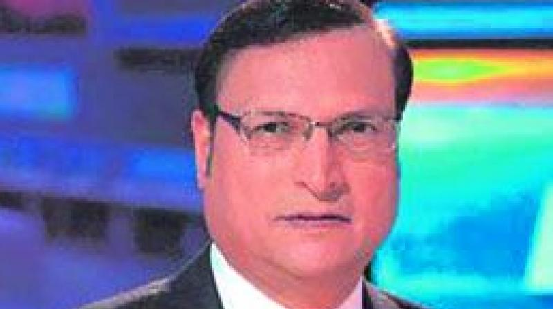Rajat Sharma assumed the charge of the office of president of Delhi and District Cricket Association (DDCA) on Monday after ombudsman Justice (Retired) Badar Durrez Ahmed put his and other officials' resignations on hold and asked them to continue in their respective roles. (Photo: File)