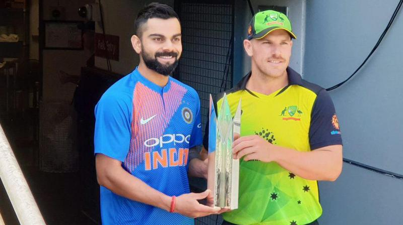 Bengaluru will host the first match of Australia's limited overs tour of India with a T20 International on February 24, the BCCI announced Thursday. (Photo: Twitter / BCCI)