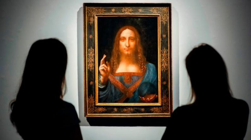 On Monday, London-based art dealer Kenny Schachter, writing for the website Artnews, offered answers: the painting now resides on the gargantuan yacht owned by powerful Saudi Crown Prince Mohammed bin Salman. (Photo: AFP)