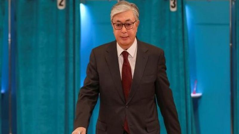 The preliminary results indicated that Tokayev won a clear victory among the seven candidates.  (Photo: ANI)