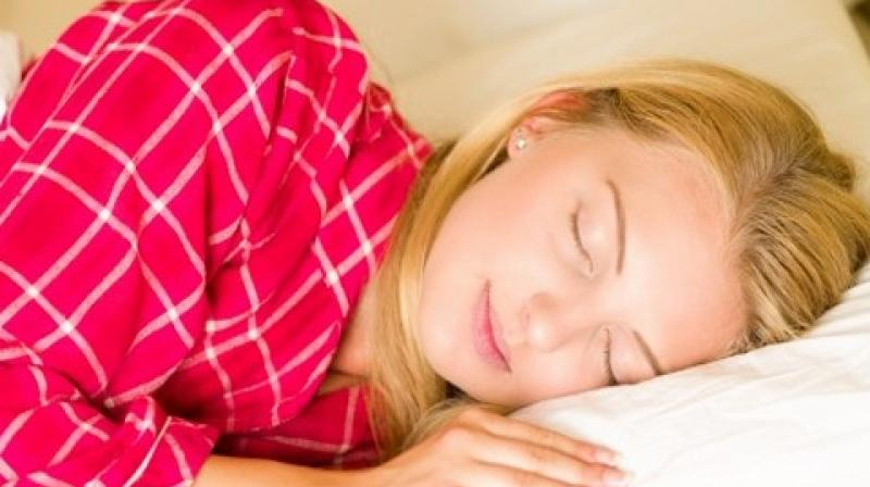 Young women slept more than young men, and the former also went to sleep earlier.