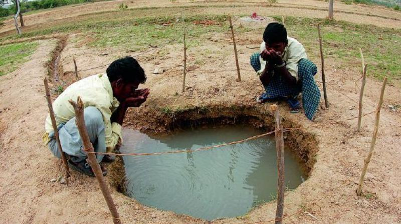 Six per cent or about 200 tmc ft goes into irrigation tanks and small reservoirs and the remaining 12 per cent is considered as recharge of groundwater. (Representational image)