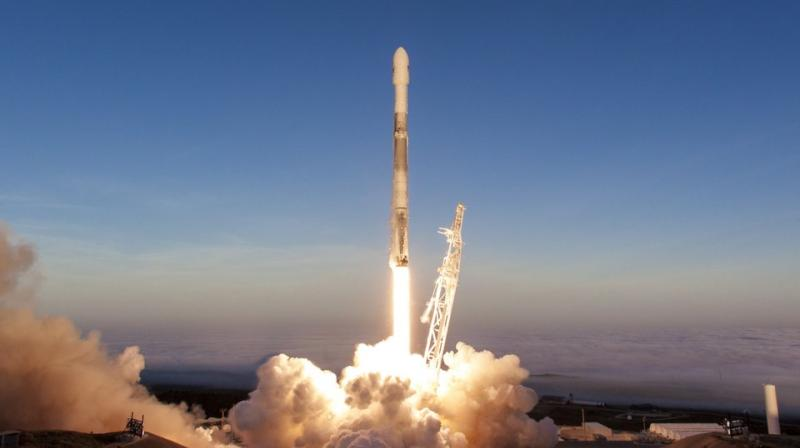 SpaceX cargo mission launching to Space Station carrying experiments and supplies