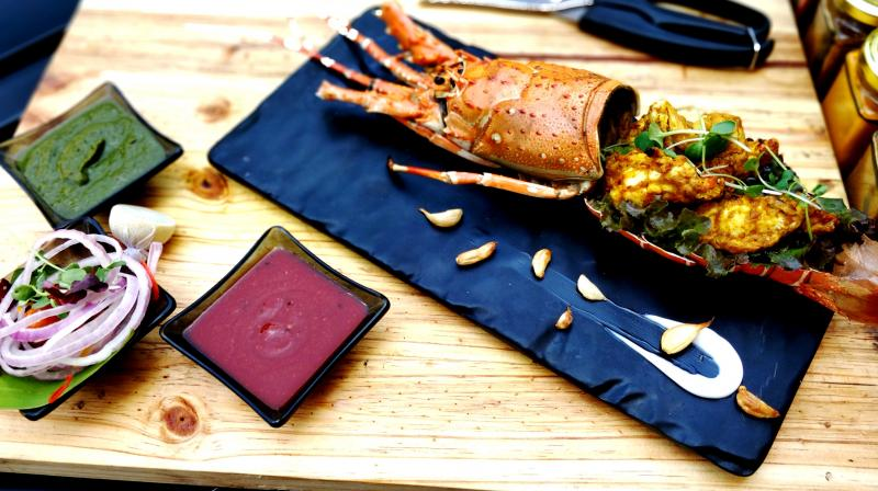 If you love lobsters then this is a must try. (Photo: Hilton Mumbai International Airport)