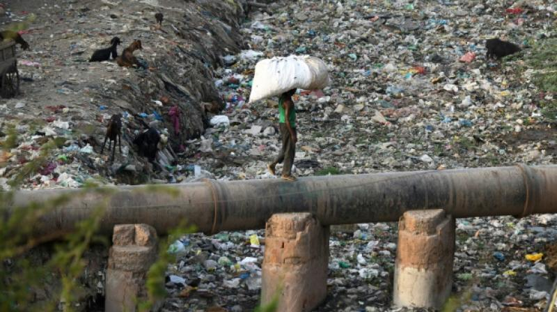 Not only are plastics polluting our oceans and waterways and killing marine life, it's in all of us. (Photo: AFP)